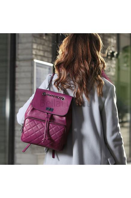 Кожаный Рюкзак Florence, цвет бургунди