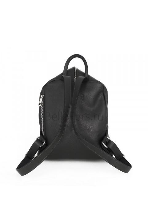 Кожаный Рюкзак Salerno, цвет чёрный