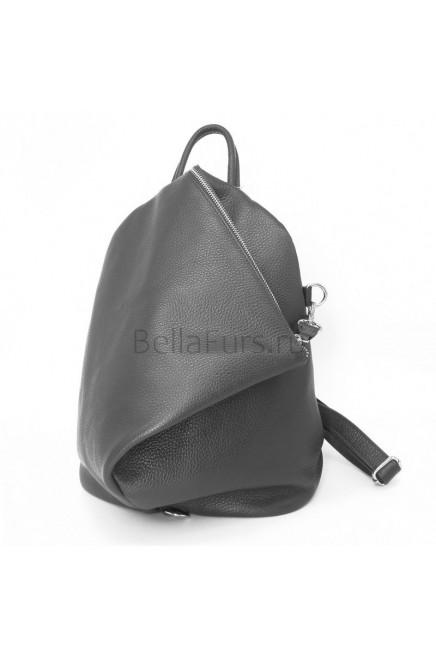 Кожаный Рюкзак Salerno, цвет серый