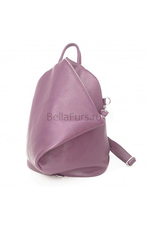 Кожаный Рюкзак Salerno, цвет розовый