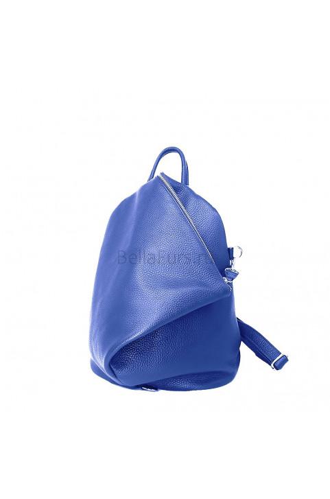 Кожаный Рюкзак Salerno, цвет ярко-синий
