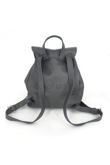 Кожаный Рюкзак Siena, цвет серый