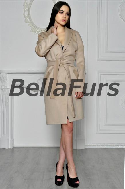 Пальто-халат стильное