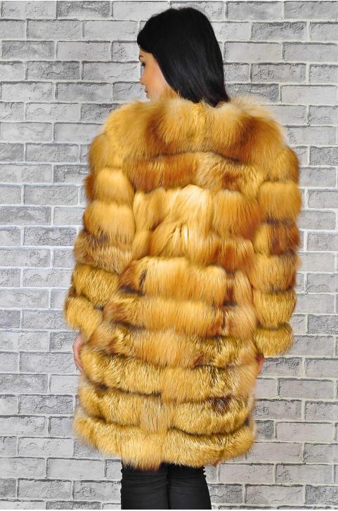 Шуба из лисы недорого