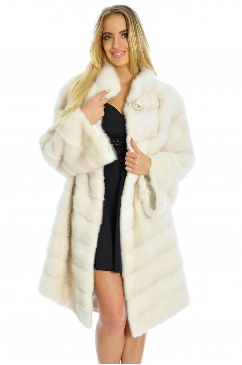 Женская норковая шуба в интернет магазине