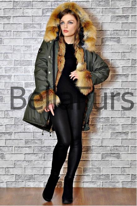Женская куртка пальто зимнее