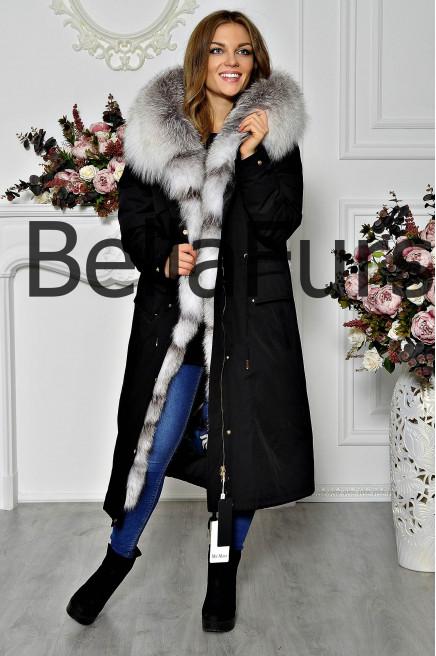 Куртка пальто женское зимнее большого размера