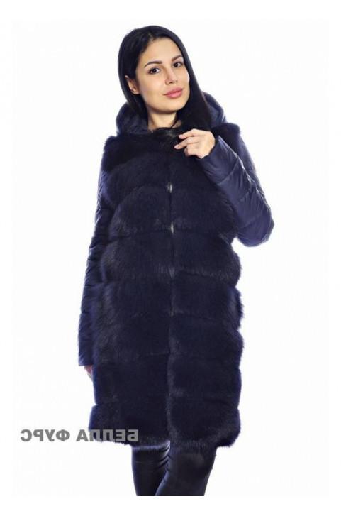 Меховая жилетка под кожаную куртку