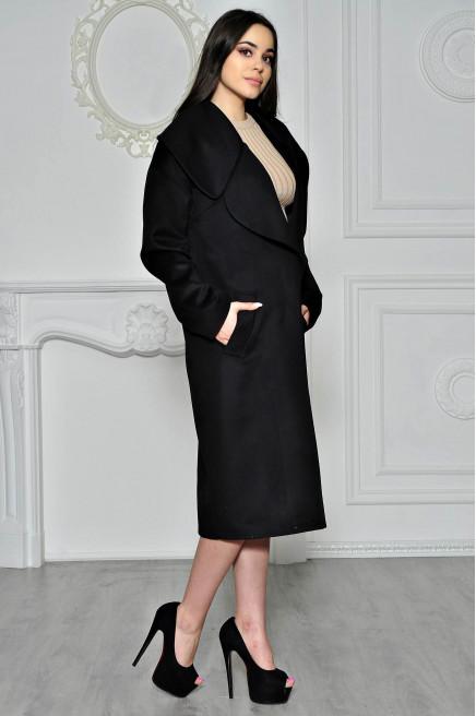 Зимнее пальто женское без меха