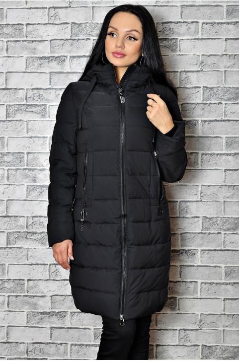 Зимнее пальто с меховой подкладкой