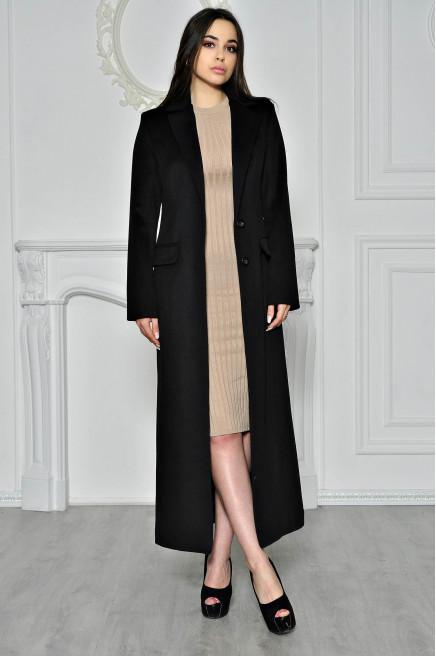 Женское зимнее пальто из шерсти