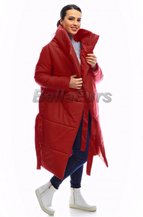 Пуховик (цвет красный)