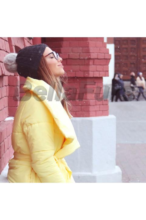 Пуховик (цвет желтый)